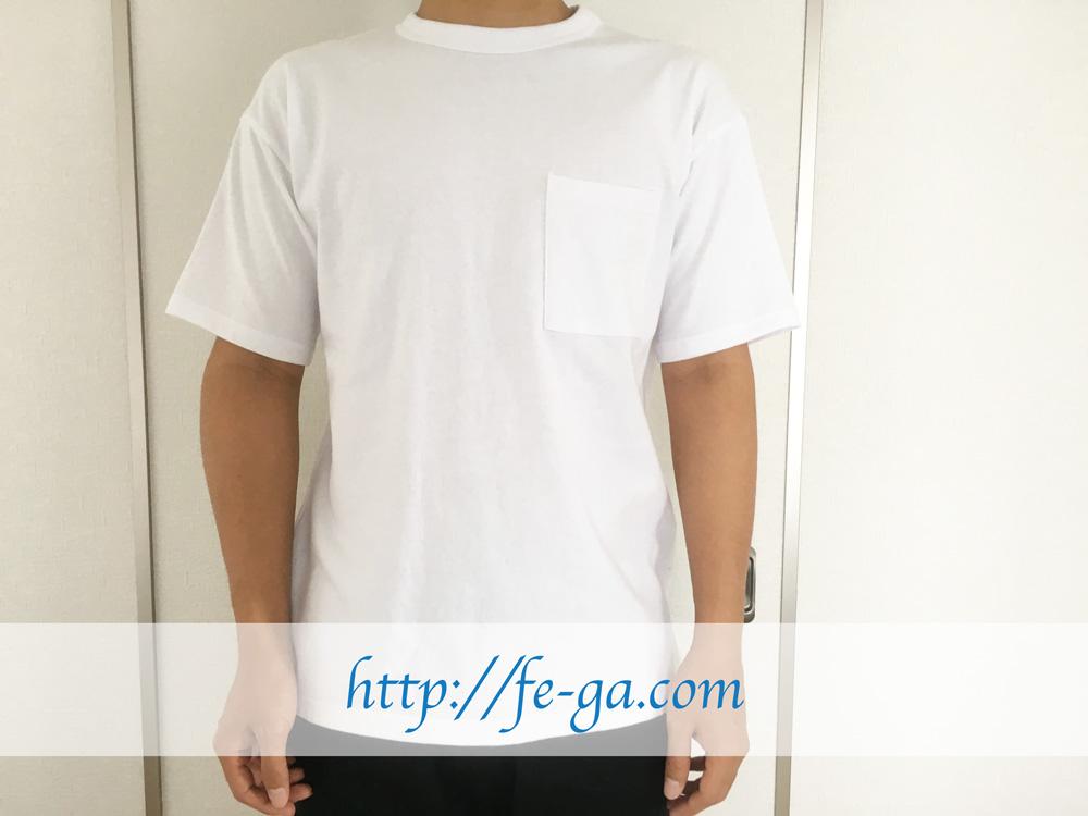 GoodwearポケットTシャツサイズ感