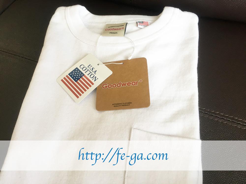 GoodwearポケットTシャツ