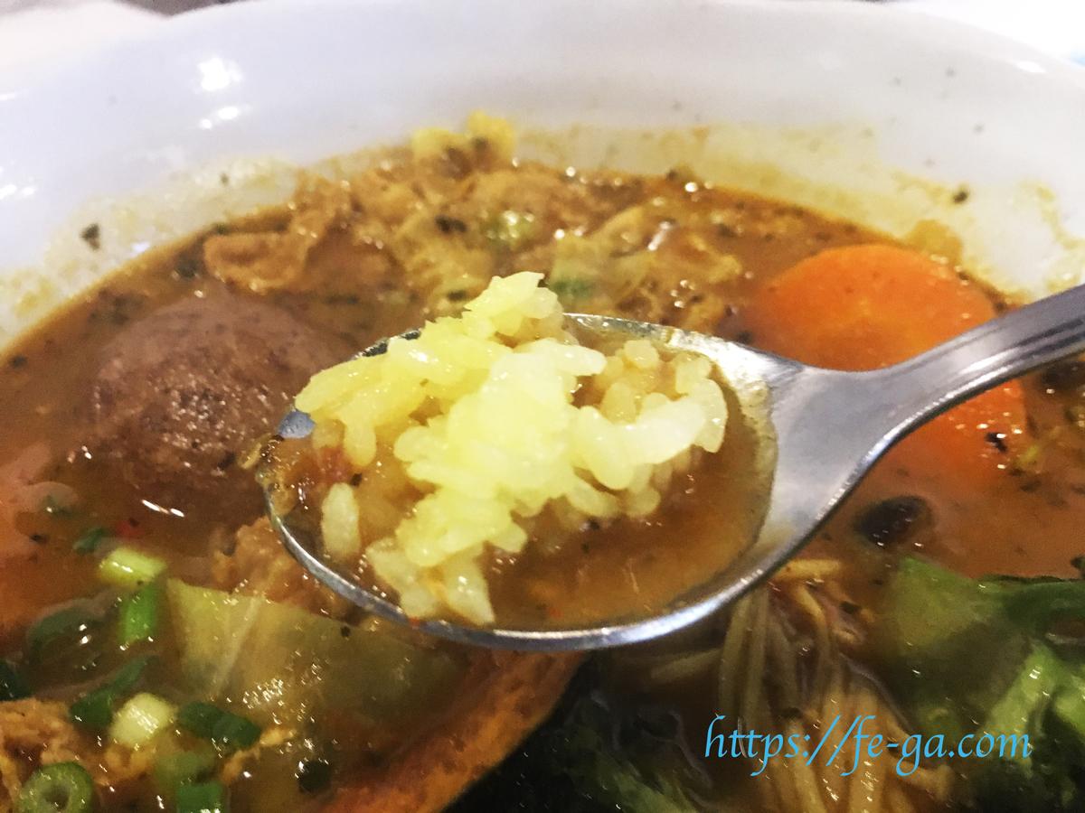 スープカレーの味と香り